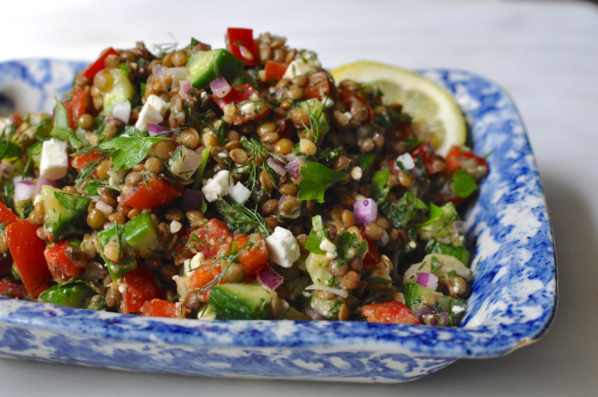Lentil Salad With Tomato And Dill Recipes — Dishmaps