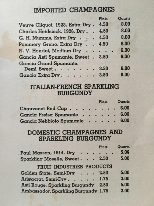 A quart of 1923 Veuve Cliquot for $8? Yes, please!!